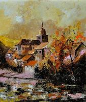 pol-ledent-1-Landschaft-Herbst-Natur-Diverse-Moderne-Impressionismus