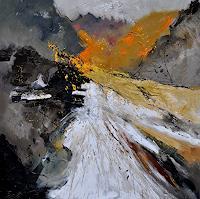 pol-ledent-1-Abstraktes-Diverses-Moderne-Abstrakte-Kunst