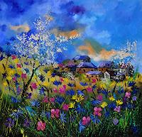 pol-ledent-1-Landschaft-Sommer-Diverse-Landschaften-Moderne-Impressionismus
