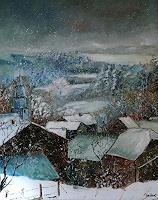 pol-ledent-1-Landschaft-Winter-Diverses-Moderne-Impressionismus