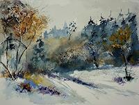 pol-ledent-1-Landschaft-Herbst-Natur-Diverse-Moderne-Impressionismus-Neo-Impressionismus