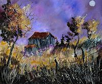 pol-ledent-1-Arbeitswelt-Natur-Wald-Moderne-Impressionismus