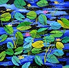 pol ledent, Waterlilies and nympheas