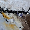 pol ledent, Abstract Flight, Abstraktes, Action Painting