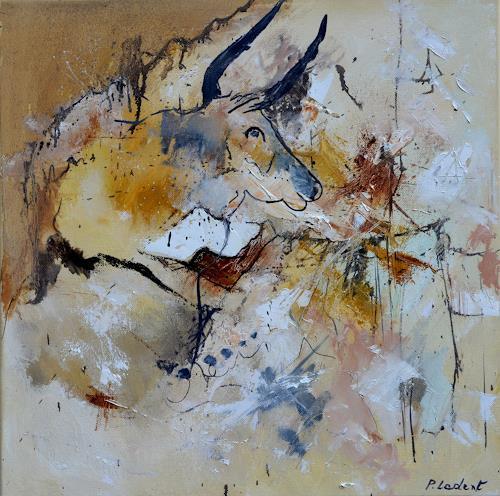 pol ledent, Bull head, Diverse Tiere, Abstrakte Kunst