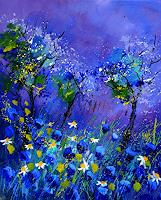 pol-ledent-1-Natur-Pflanzen-Blumen-Moderne-Expressionismus