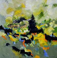 pol-ledent-1-Landschaft-Landschaft-Fruehling-Moderne-Abstrakte-Kunst