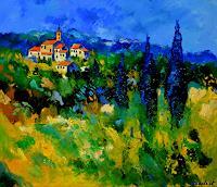 pol-ledent-1-Landschaft-Landschaft-Sommer-Moderne-Expressionismus