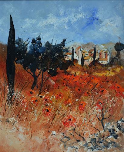 pol ledent, Red Provence, Natur, Postimpressionismus