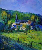 pol-ledent-1-Landschaft-Landschaft-Fruehling-Moderne-Impressionismus-Postimpressionismus