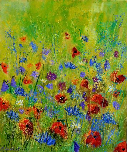 pol ledent, wild summer flowers, Natur, Postimpressionismus
