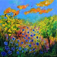 pol-ledent-1-Landschaft-Sommer-Moderne-Impressionismus-Neo-Impressionismus