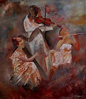 p. ledent, three musicians