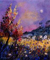 p. ledent, flowered landscape