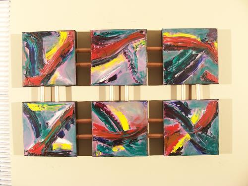 Paul Timshel, Color Convergence, Abstraktes, Zeiten: Heute, Neo-Expressionismus