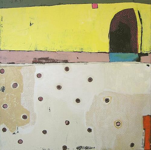 Maria Gust, Durchgang, Abstraktes, Diverse Bauten, Gegenwartskunst, Expressionismus