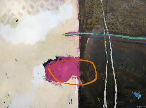 Maria Gust, Mitte, warm, Abstraktes, Diverse Gefühle, Gegenwartskunst, Abstrakter Expressionismus