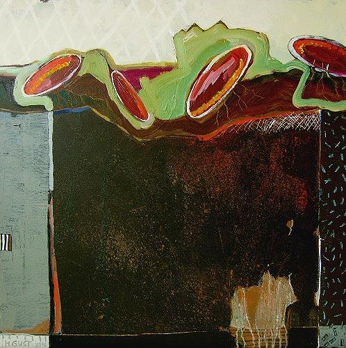 Maria Gust, Vierkorn, Abstraktes, Natur: Diverse, Gegenwartskunst, Abstrakter Expressionismus