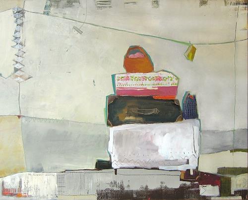 Maria Gust, Hast du alles?, Menschen, Abstraktes, Gegenwartskunst, Expressionismus