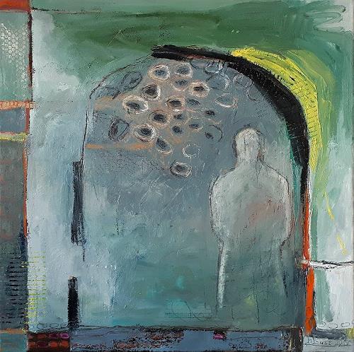 Maria Gust, komm näher, Menschen, Abstraktes, Abstrakte Kunst