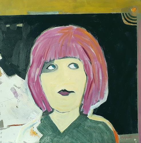 Maria Gust, Das Ding, Menschen, Mythologie, Gegenwartskunst, Expressionismus