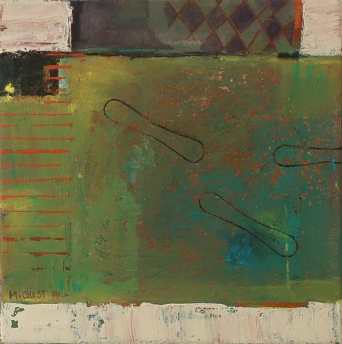 Maria Gust, wieder spielen, Abstraktes, Diverse Gefühle, Gegenwartskunst