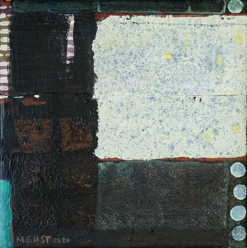 Maria Gust, übereinander, Abstraktes, Diverse Weltraum, Gegenwartskunst, Abstrakter Expressionismus