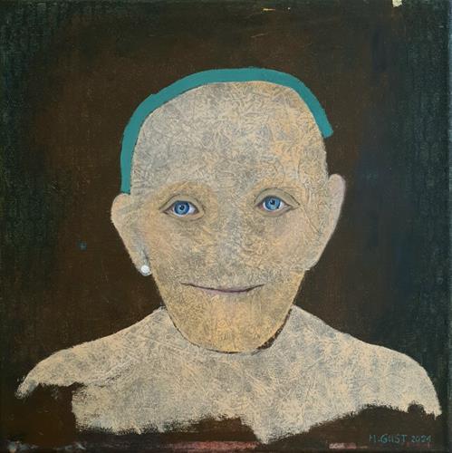 Maria Gust, forever young, Diverse Menschen, Zeiten: Zukunft, Gegenwartskunst, Abstrakter Expressionismus