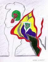AndReaS-KoVaR-Menschen-Mann-Menschen-Frau-Moderne-Abstrakte-Kunst