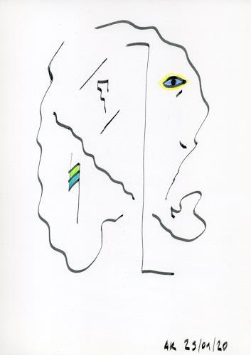 AndReaS KoVaR, Die Geschichte 04, Abstraktes, Fantasie, Symbolismus