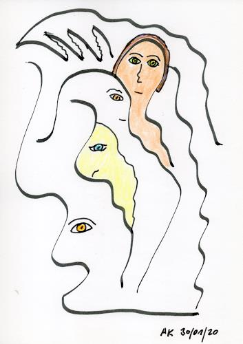 AndReaS KoVaR, Die Geschichte 08, Menschen: Gesichter, Mythologie, Symbolismus