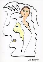 AndReaS-KoVaR-Menschen-Gesichter-Mythologie-Moderne-Symbolismus