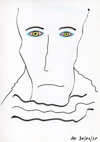 AndReaS KoVaR, Die Geschichte 10, Menschen: Gesichter, Mythologie, Symbolismus