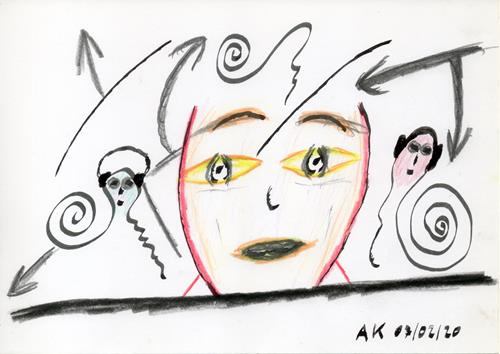 AndReaS KoVaR, Wissenschaft 01, Diverse Menschen, Fantasie, Symbolismus