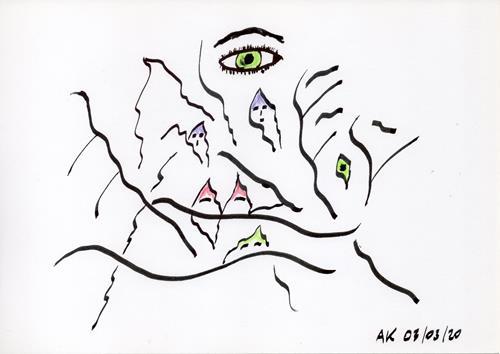 AndReaS KoVaR, Wissenschaft 04, Menschen: Gruppe, Skurril, Symbolismus
