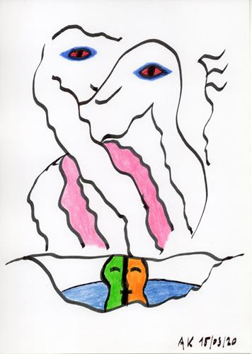 AndReaS KoVaR, Wissenschaft 08, Abstraktes, Mythologie, Symbolismus