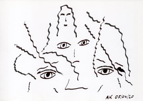 AndReaS KoVaR, Wissenschaft 09, Abstraktes, Diverse Menschen, Symbolismus
