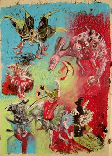 steffi huber, Zirkus, Fantasie, Poesie