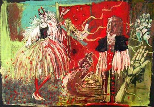 steffi huber, O/T, Fantasie, Poesie