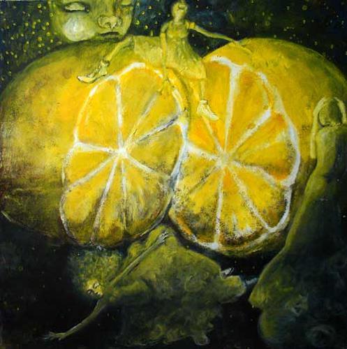 steffi huber, Zitronentraum, Fantasie, Fantasie, Expressionismus