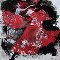 s. huber, Roter Schnee