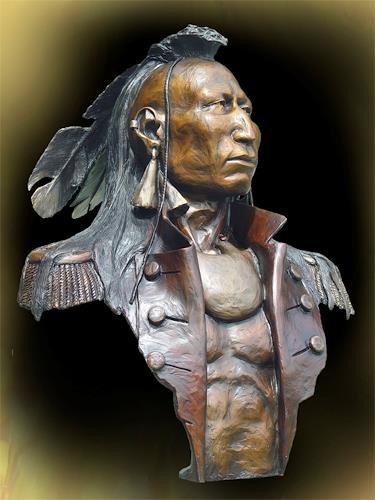 James A. Ford, 1780 - Catawba, Menschen: Gesichter, Geschichte, Historismus, Expressionismus