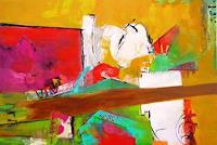 Gisela-Guenther-Abstraktes-Skurril