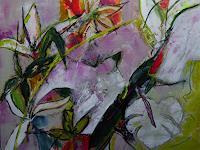 Gisela-Guenther-Pflanzen-Pflanzen-Moderne-Abstrakte-Kunst-Radikale-Malerei