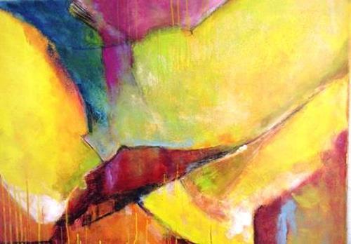 Gisela Günther, ohne Titel, Abstraktes, Abstraktes, Gegenwartskunst