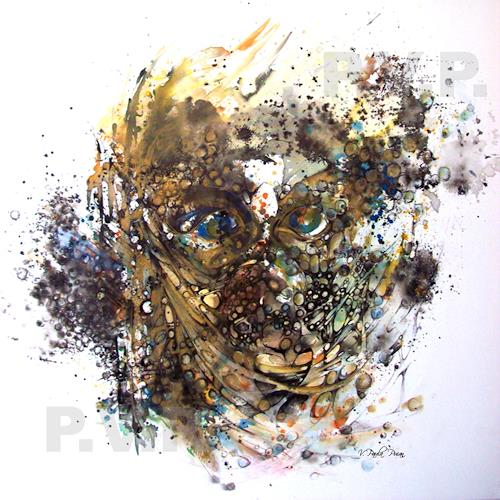 Ikka, Inside 8, Menschen: Porträt, Fantasie, Postmoderne, Abstrakter Expressionismus
