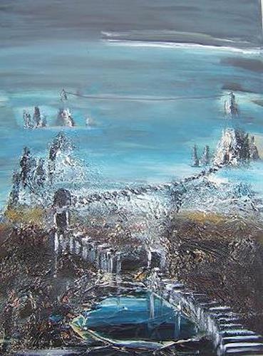 mimik, Traumland 30, Abstraktes, Landschaft: Berge, Land-Art