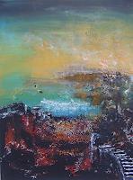mimik-Abstraktes-Landschaft-Fruehling-Gegenwartskunst--Land-Art
