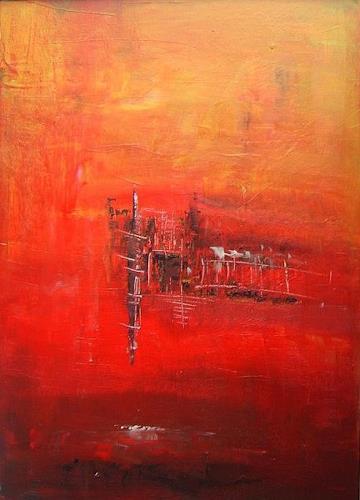 mimik, lebenszeichen 1, Abstraktes, Fantasie, Abstrakte Kunst