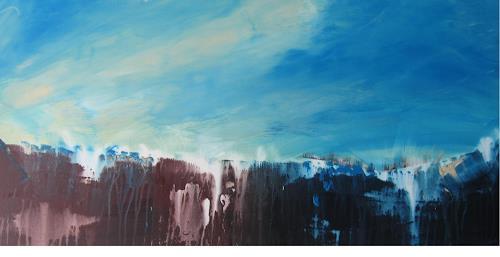 mimik, Stadt im Nirgendwo  2, Abstraktes, Landschaft: Hügel, Land-Art